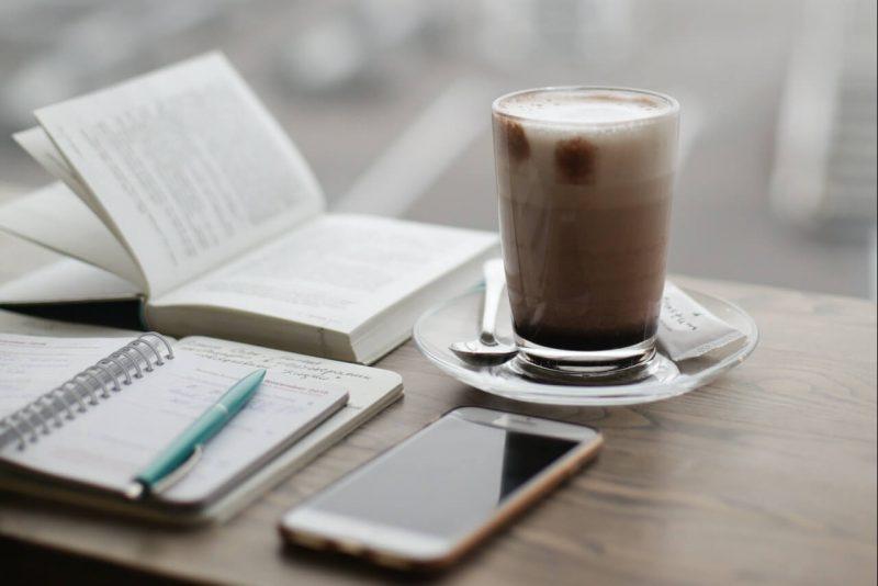 Cafe stock image